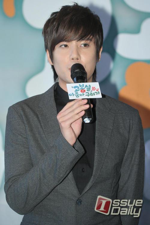 """[DRAMA] 23/08/2011 - Kim KyuJong @ """"Saving Mrs. Go BongShil"""" 4"""