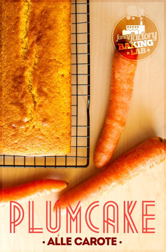 plumcake alle carote • carrots plumcake