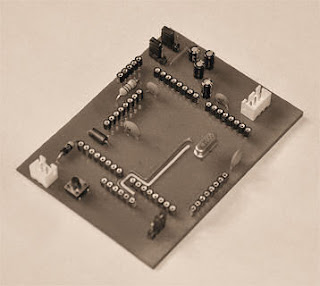 simple Atmega325 development board
