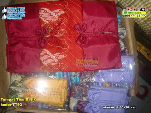 Tempat Tisu Batik grosir