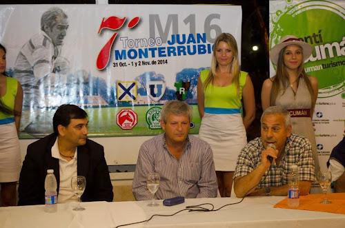 Presentación oficial del 7º Torneo M16 Juan Monterrubio