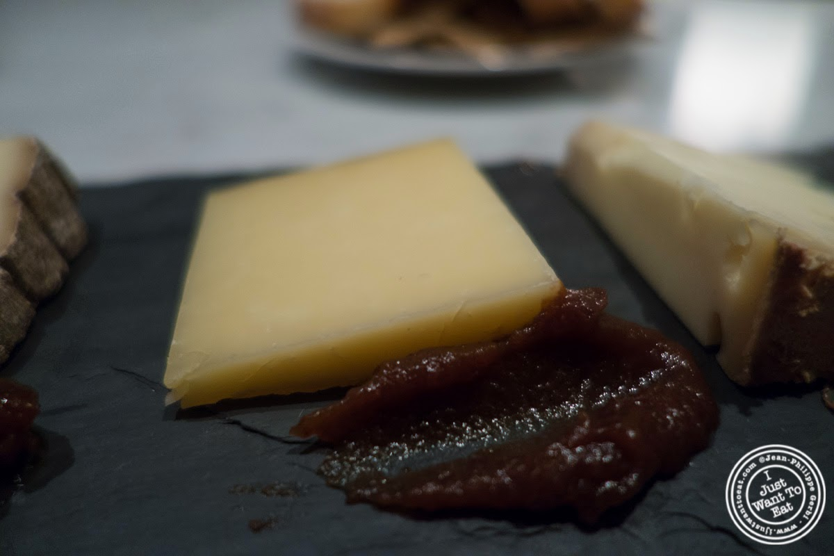 image of Cabot Clothbound Cheddar from Vermont at Murray's Cheese Bar in the West Village, NYC, New York