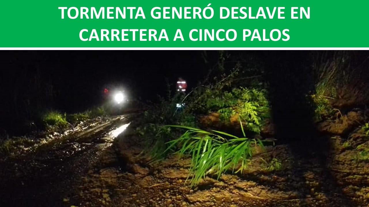 CARRETERA A CINCO PALOS