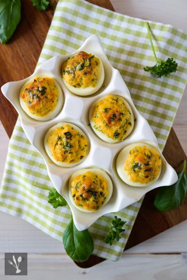 Überbackene Eier