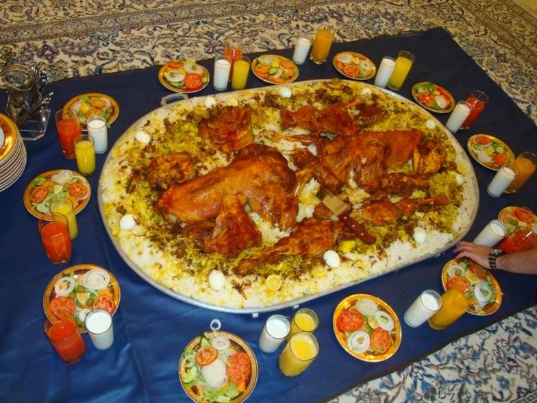 Klub Gastronomi Indonesia Adab Tatakrama Makan Orang Arab