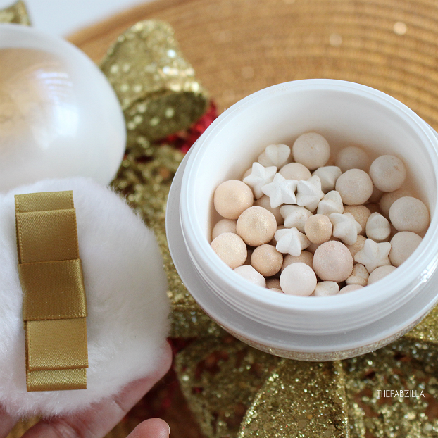 Guerlain Météorites Powder For The Face And Décolleté, Winter Fairy Tale Collection, Review