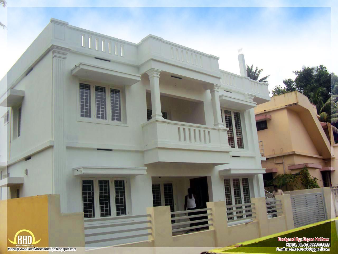 14 beautiful villa elevations kerala home design and for Kerala home designs and elevations
