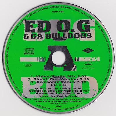 Ed O.G & Da Bulldogs – Bug-A-Boo (Promo CDS) (1991) (320 kbps)