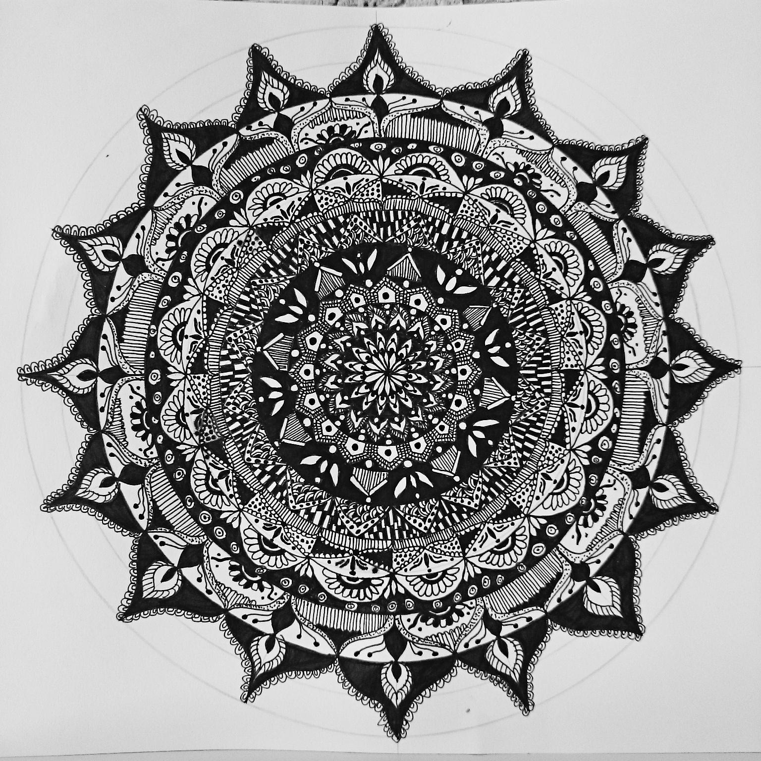 Mandala Nasıl Yapılır