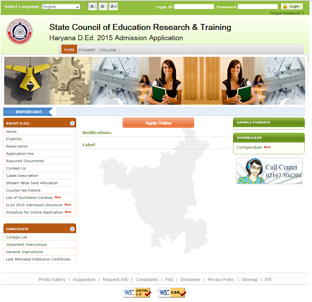 D.Ed. Online Application