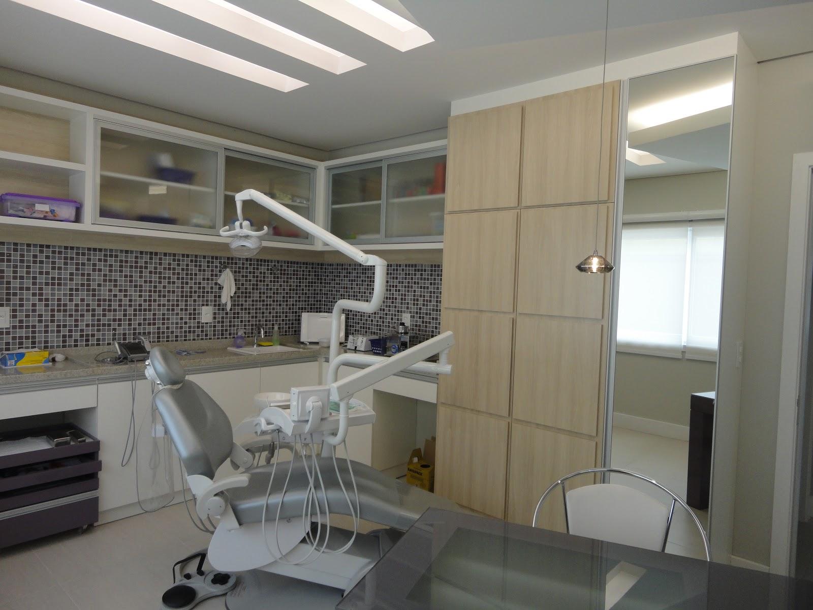 Aparador Madeira ~ feito por arquiteto consultório odontológico