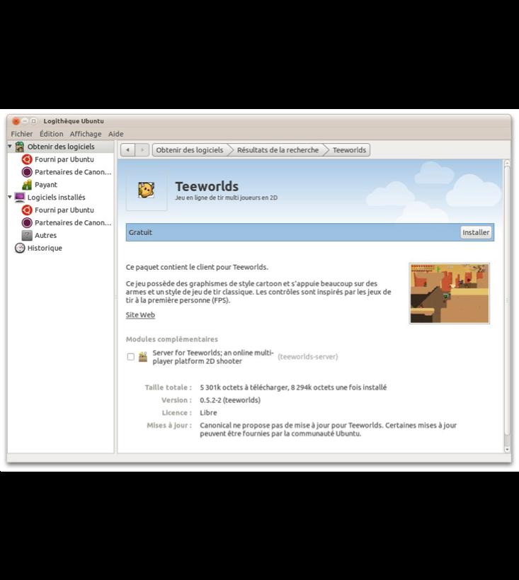 Un logiciel complètement traduit en français