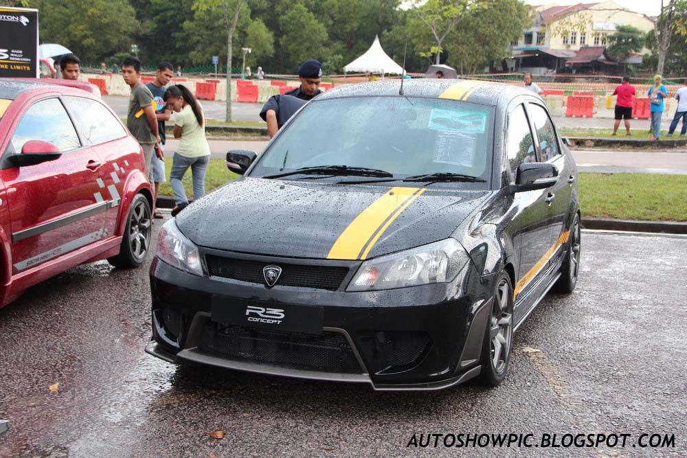 Proton Saga R3 Concept front view