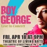 Boy George Tour - Click 4 Ticket Info