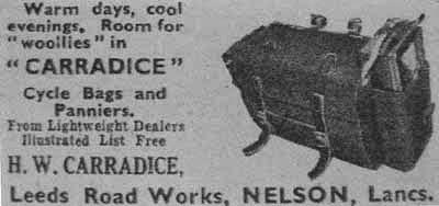 Original Carradice Saddlebags