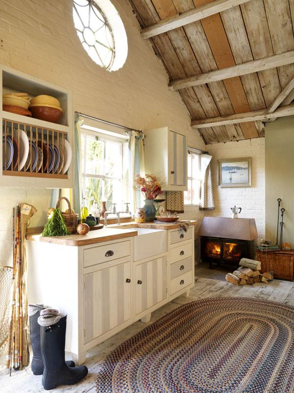 Estilo rustico cocinas en casas de campo for Cocinas country