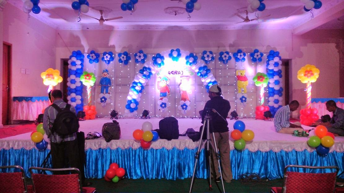 Event decorations hyderabad birthday organisers for Balloon decoration for birthday party in hyderabad