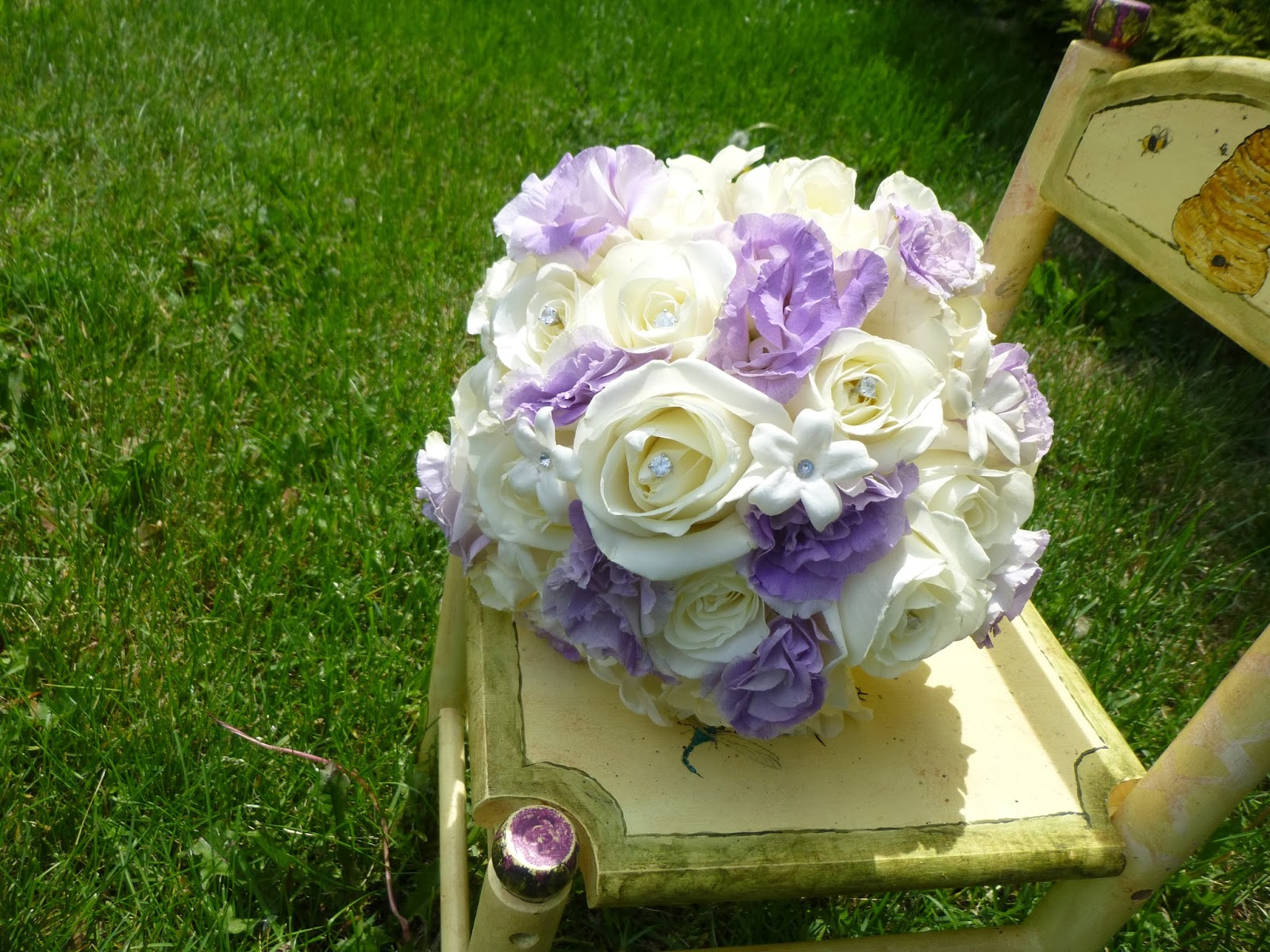 Whimsical Welcomes Floral Design Cheryl And Matt Lovely Lavender