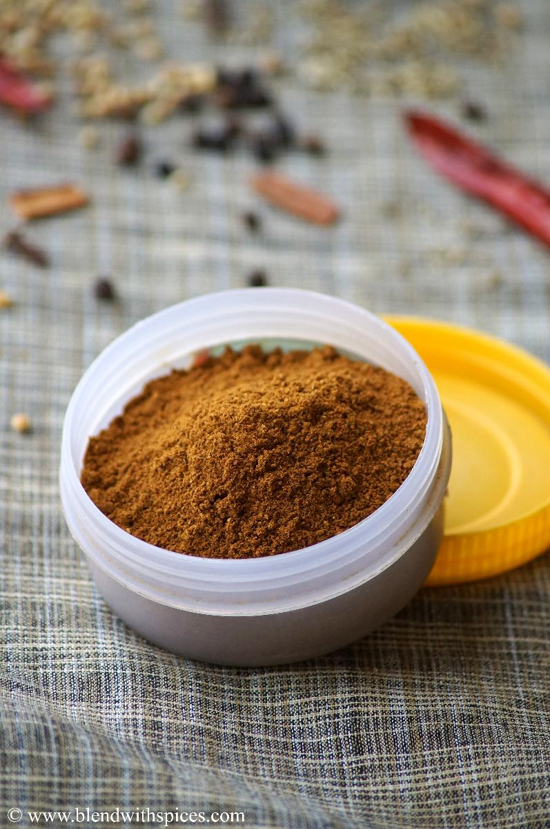 how to make pav bhaji powder, homemade pav bhaji masala, pav bhaji masala recipe
