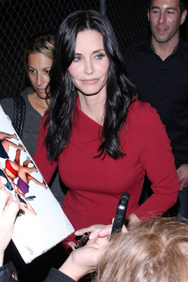 Courteney Cox Haircut 2012