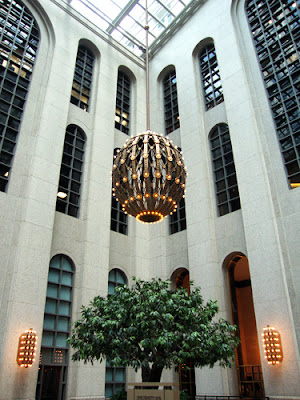 Chandelier at 191 Peachtree Tower