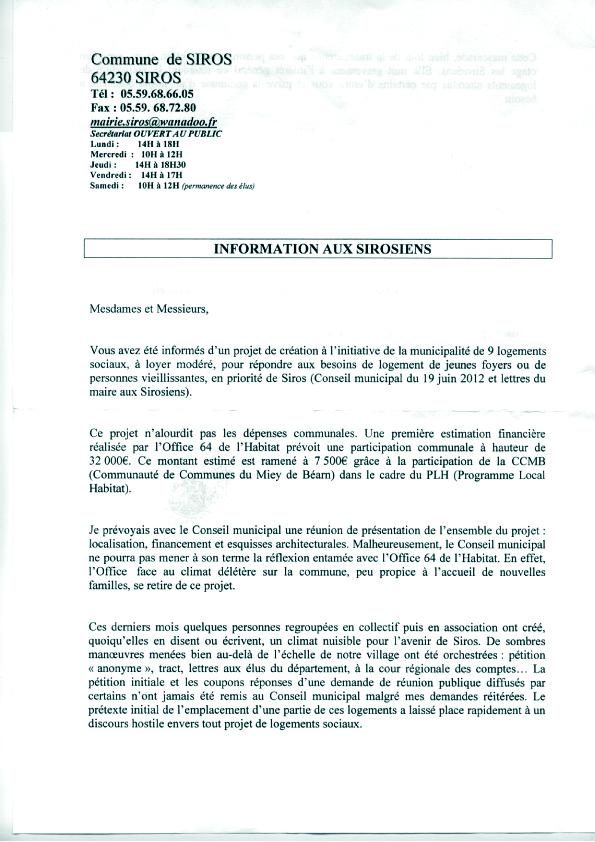 Siros Touche Pas A Ma 482 Annonces Et Lettres Mairie