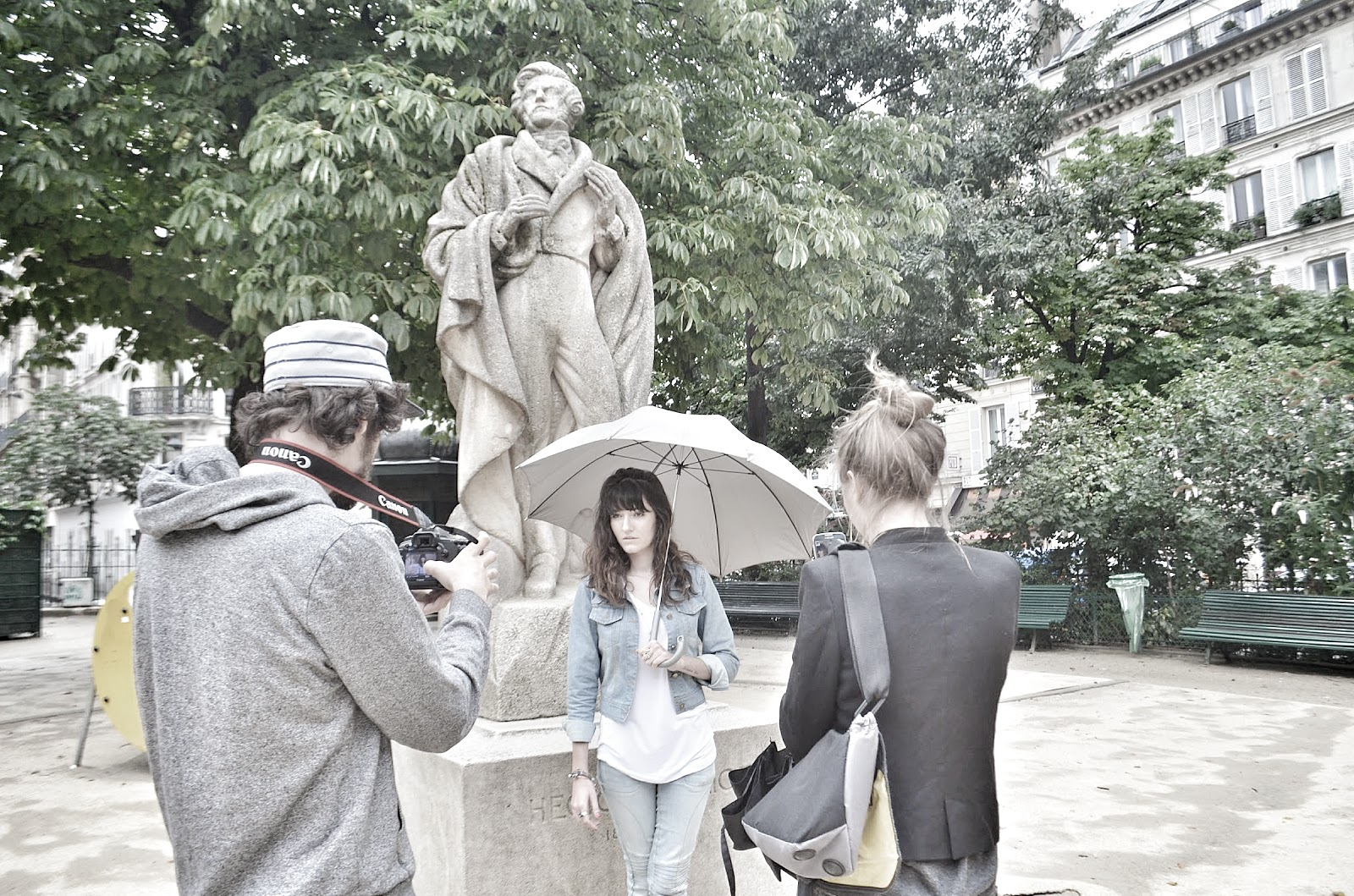 Tournage backstage Findzie - Copyright Agathe LaTuque 2014.