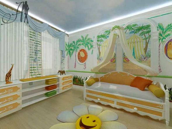 Decora y disena 19 ideas de decoraci n de paredes en - Decoracion paredes infantiles ...