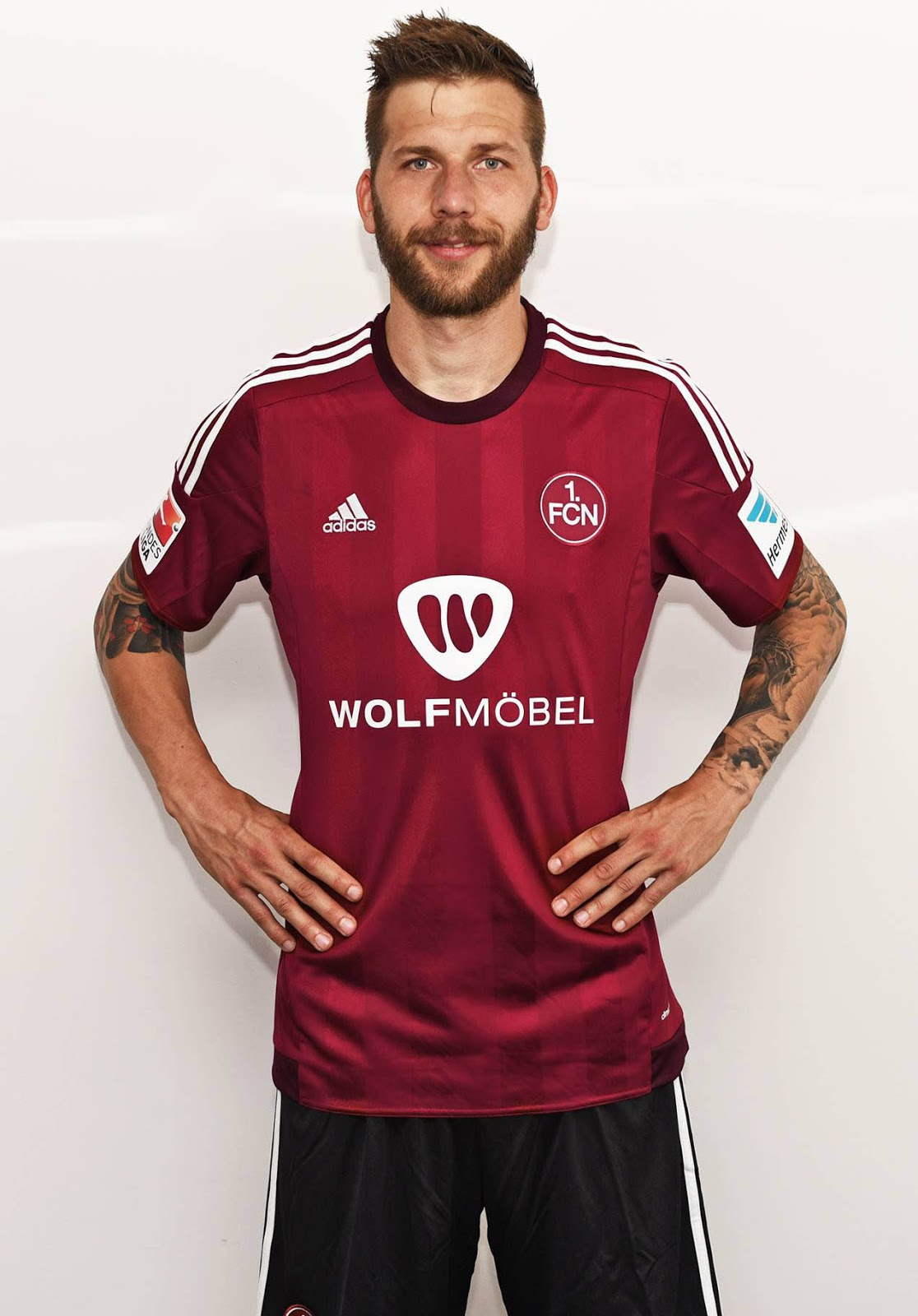 Adidas 1. FC Nürnberg 15 16 Home Kit Released   Footy Headlines