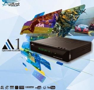 ATUALIZAÇÃO AUDISAT A1 HD IPTV - V1.1.07 BAIXAR - 27/05/2015