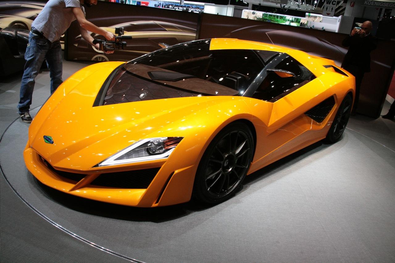 Autorique Cars 2011 Brabus Tesla Roadster