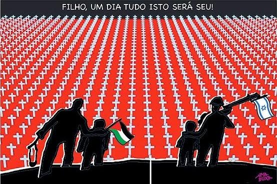 Amarildo Lima: Palestine vs. Israel.