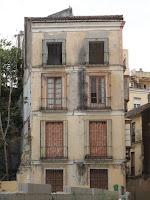 edificio histórico en ruina, calle Muro de las Catalinas 4