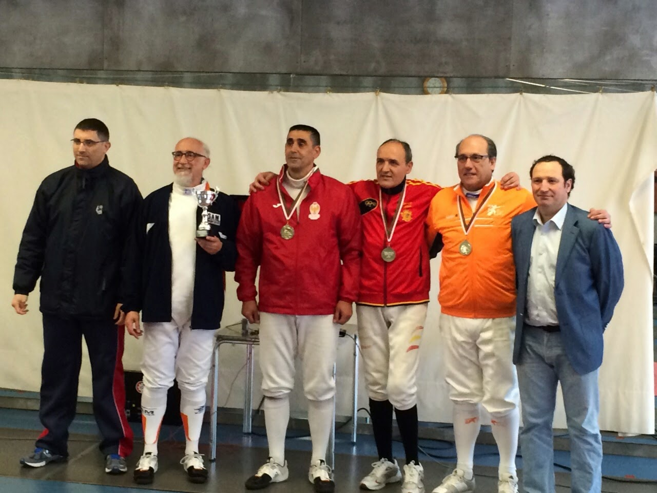 Torneo Veteranos San Sebastián 21/03/2015