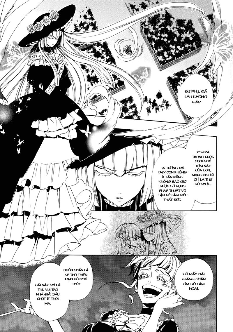 Umineko no Naku Koro ni Episode 3: Banquet of the Golden Witch chap 8 - Trang 2
