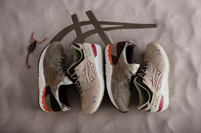 Asics Tiger, Asics Lifestyle, Asics, Desert Pack, Gel-Lyte III, Gel-Lyte V, sneakers, calzado, zapatillas, sportwear, Suits and Shirts,
