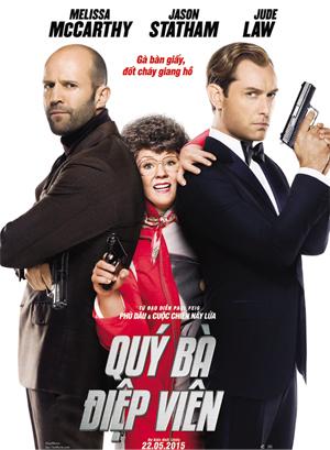 Spy 2015 poster