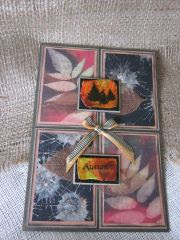 visible image stamps tree stamp Autumn inspired card