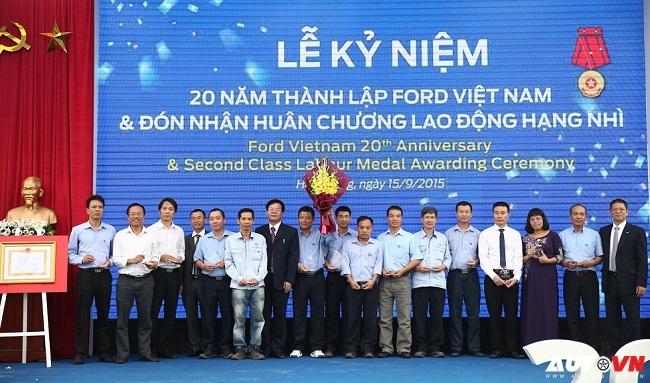 Ford Việt Nam nhận Huân chương Lao động hạng Nhì