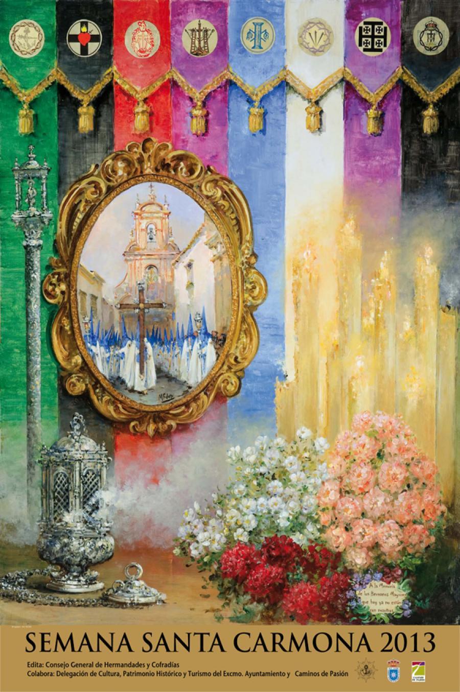 Cartel de la Semana Santa de Carmona 2013