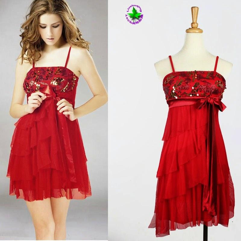vestido de festa curto vermelho - dicas e fotos