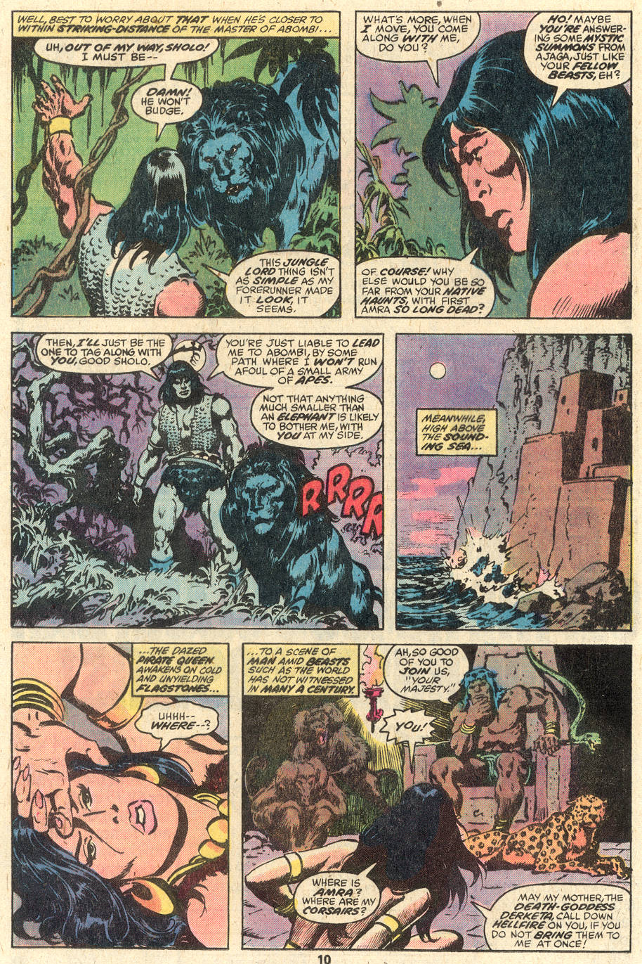 Conan the Barbarian (1970) Issue #95 #107 - English 7