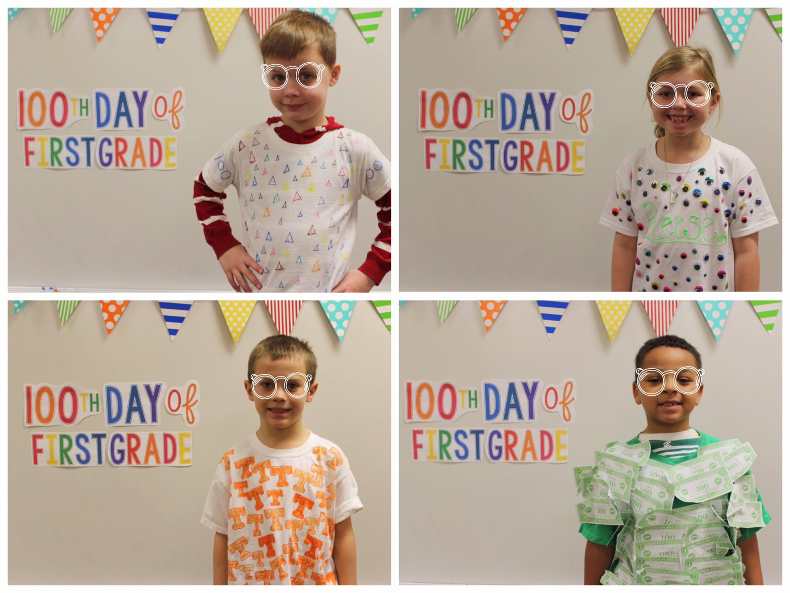 School Is A Happy Place Lets Celebrate The 100th Day Fun