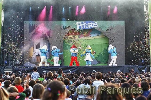 Los Pitufos Live-Un Festival muy Pitufado