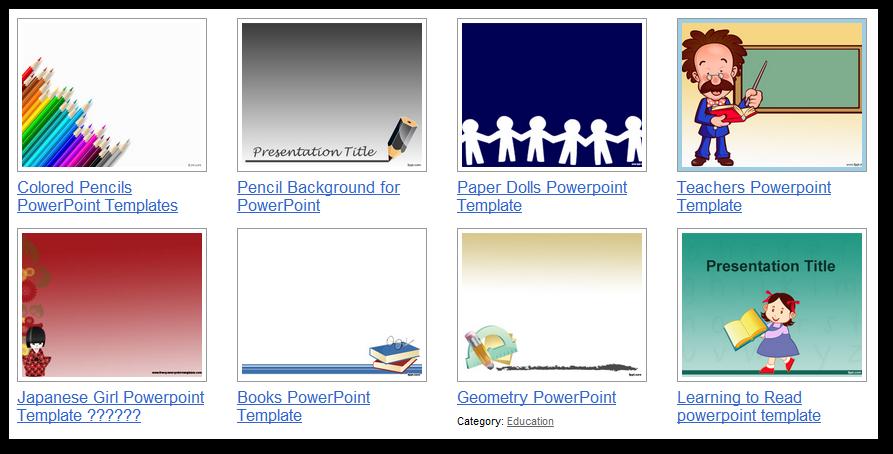 Plantillas PowerPoint Educación