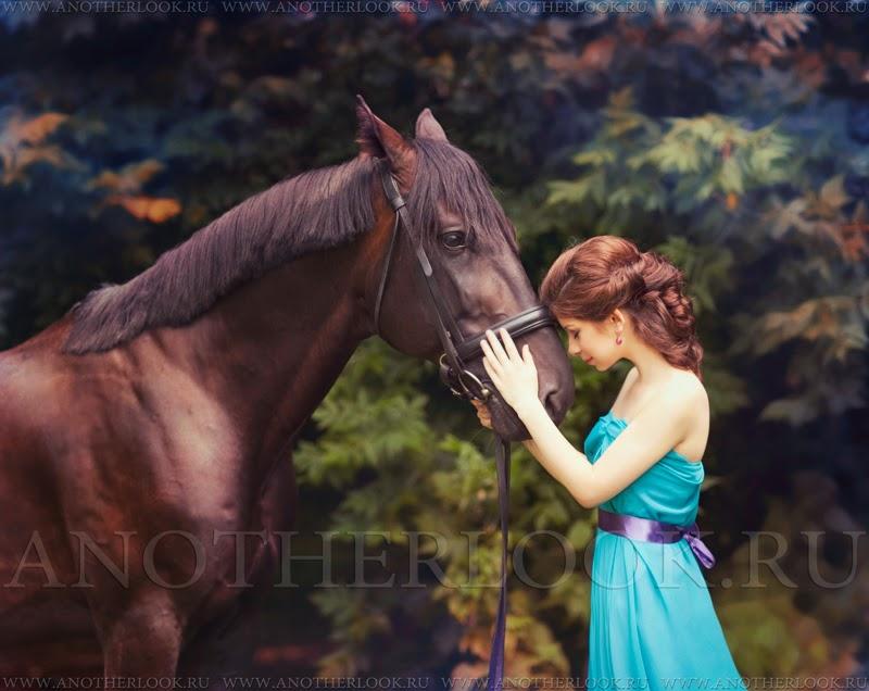 фотосессия лошади