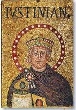ภาพโมเสกของจักรพรรดิจัสติเนียน