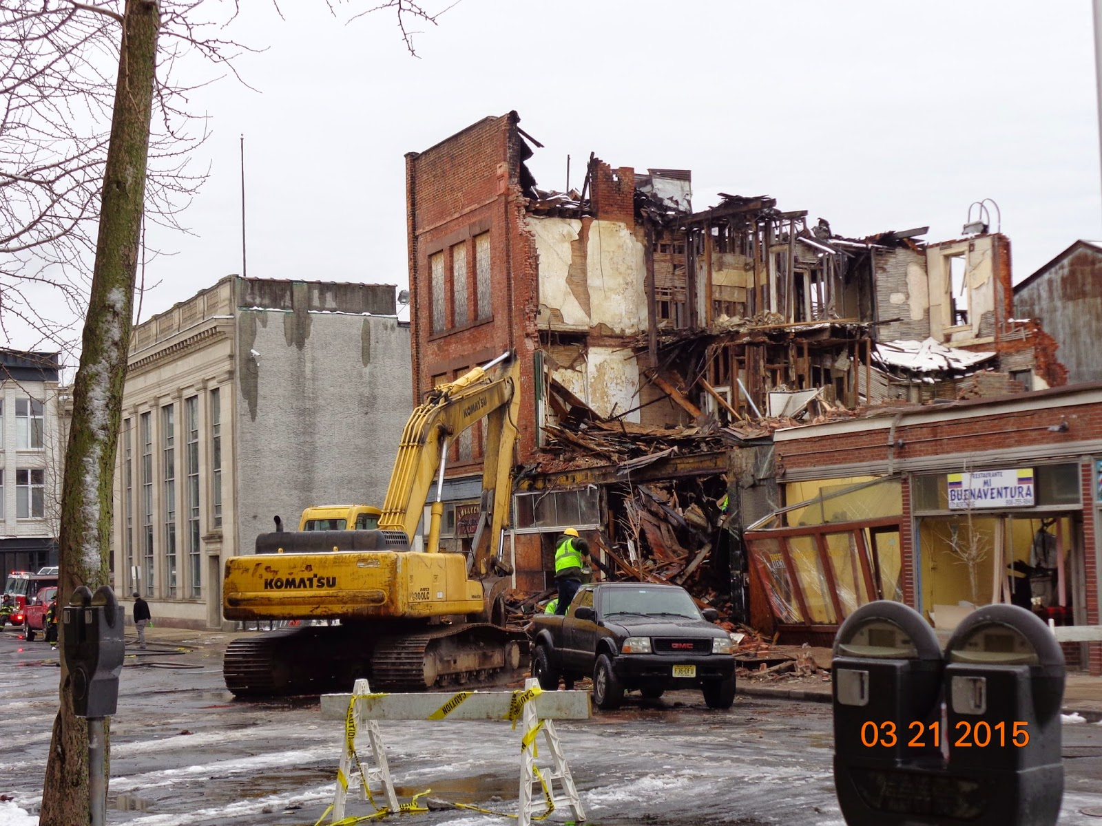An emergency building will be demolished on the Robespierre in Petersburg 59