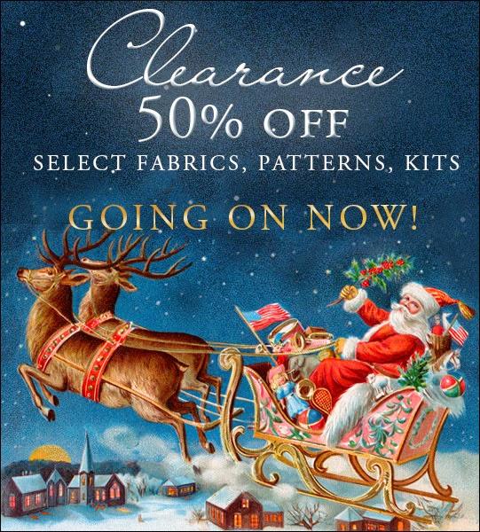 Shabby Fabrics | Clearance 50% OFF Sale