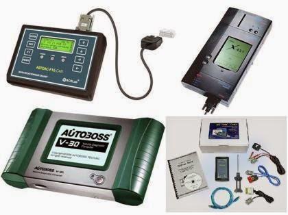 Диагностическое оборудование для автомобилей - универсальные диагностические сканеры